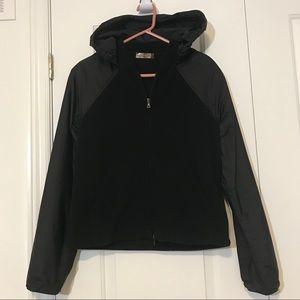 PRADA Sport Linea Rossa Fleece Hoodie Jacket